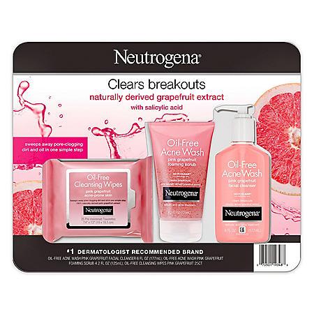 Neutrogena Oil-Free Pink Grapefruit Acne Pack