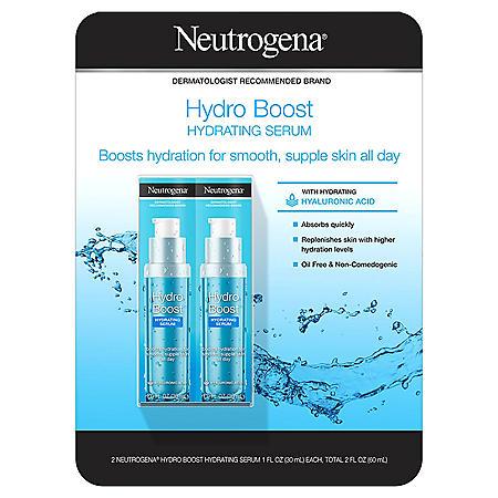 Neutrogena Hydro Boost Hydrating Serum (1 fl. oz., 2 pk.)