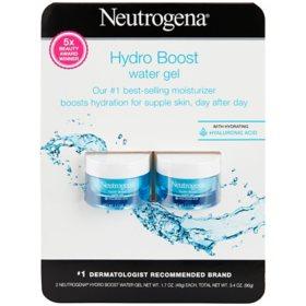 Neutrogena Hydro Boost Hyaluronic Acid Water Gel Moisturizer ( 1.7 oz., 2 ct.)