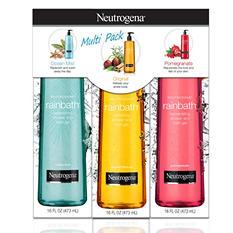 Neutrogena Rainbath Shower Gel, Multi-pack (16 fl. oz., 3 pk.)