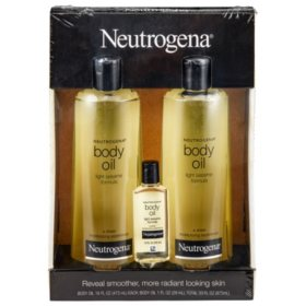 Neutrogena Body Oil Moisturizer (16 fl. oz., 2 pk. + 1.0 fl. oz., 1 pk.)