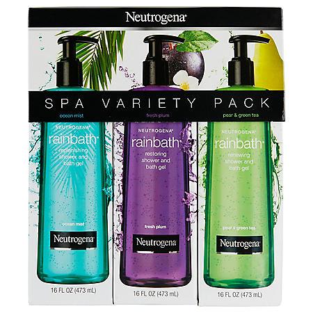 Neutrogena Rainbath Replenishing Shower Gel Tri-Pack (16 fl. oz.)