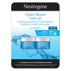 Neutrogena Hydro Boost Water Gel Twinpack with Bonus Mask (1.7 fl., oz. 2 pk.)