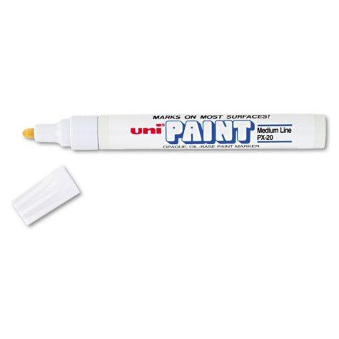 Sanford - uni-Paint Marker, Medium Point - White