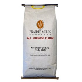 Prairie Mills All Purpose Flour (25 lbs.)
