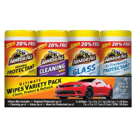 Armor All Ultimate Wipes Variety Pack