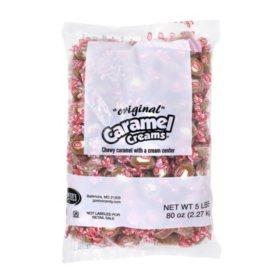 Goetze's Original Caramel Creams (5 lbs.)