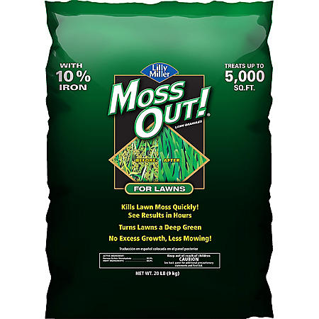 Moss Out! for Lawns - 20lbs