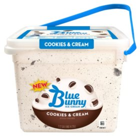 Blue Bunny Cookies and Cream Pail (4.5 qt.)