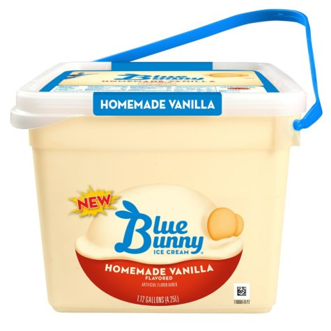 Blue Bunny Homemade Vanilla Pail (4.5 qt.)