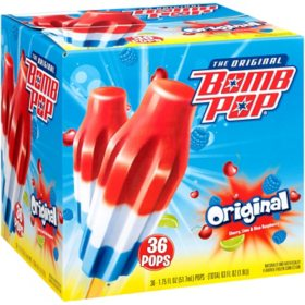 Bomb Pop Original Ice Pops (36 ct.)