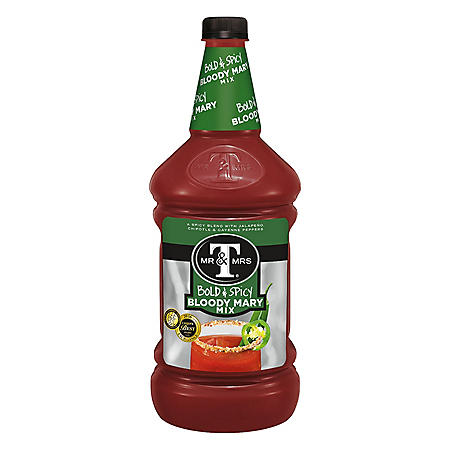 Mr. & Mrs. T Bold & Spicy Bloody Mary Mix (1.75 L)