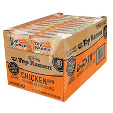 Nissin Top Ramen, Chicken Flavor (3 oz. pk., 48 ct.)