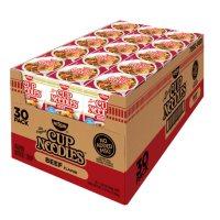Nissin Cup Noodles, Beef Flavor (2.25 oz., 30 ct.)