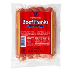 Vienna Beef Franks (2 lb., 2 pks.)