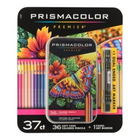Prismacolor Premier Soft Core Colored Pencils, Assorted Colors, 37ct.