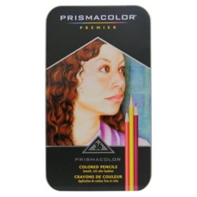 Prismacolor Premier Soft Core Colored Pencils, Assorted Colors, 36ct.