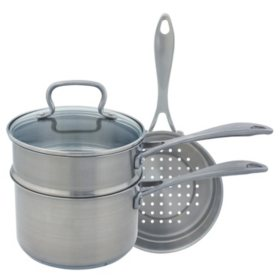 Range Kleen Specialty 4-Piece Multi Saucepan Set, 3 Quart