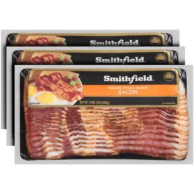 Smithfield Naturally Hickory Smoked Bacon (3 lbs.)
