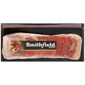 Smithfield Thick Cut Cherrywood Smoked Bacon (3 lbs.)