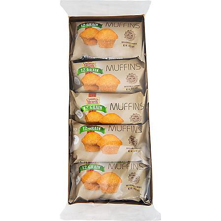 Country Hearth 12 Grain Muffins (1.4 oz., 10 pk.)