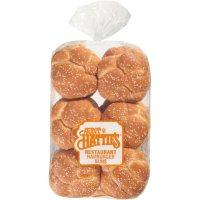 Aunt Hattie's Hamburger Buns with Sesame Seeds (28 oz.)