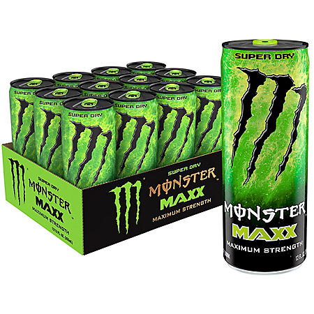 Monster Energy MAXX Super Dry (12oz / 12pk)