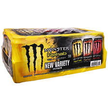 Monster Energy Rehab Variety Pack (15.5 oz. cans, 24 ct.)