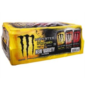 Monster Energy Rehab Tea Variety Pack (15.5oz / 24pk)