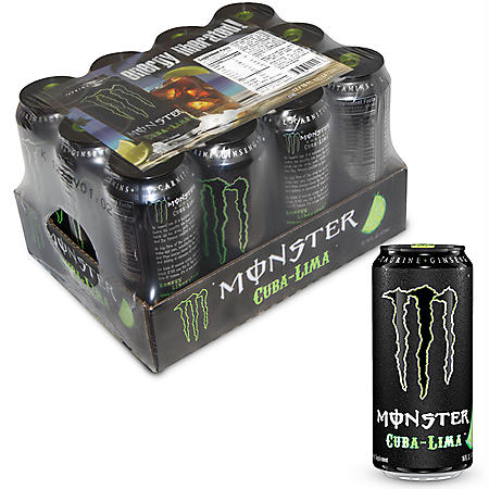 Monster Cuba-Lima - 16 oz. can - 12 pk.
