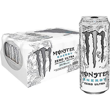 Monster Energy Zero Ultra (16oz / 24pk)