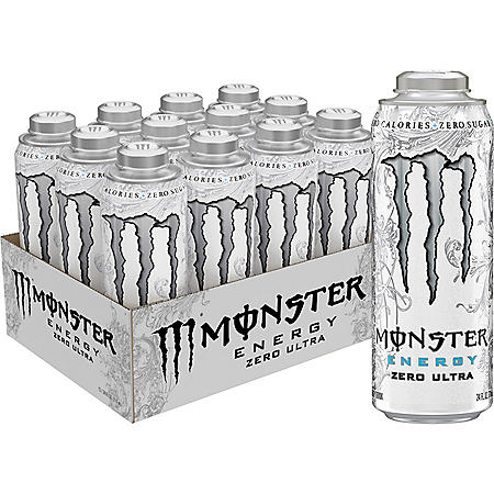 Monster Energy Mega Can Zero Ultra (24oz / 12pk)