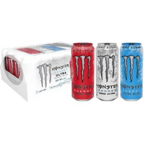 Monster Energy Drink, Ultra Variety Pack (16 oz. cans, 24 ct.)