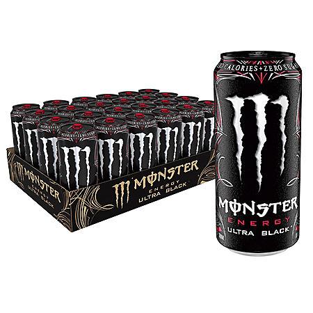 Monster Ultra Black (16oz / 24pk)