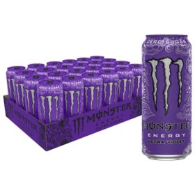 Monster Energy Ultra Violet (16oz / 24pk)