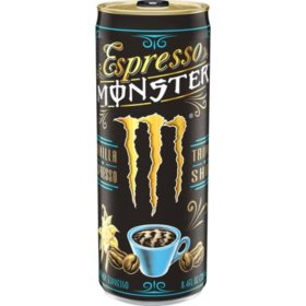 Incredible Monster Energy Espresso Vanilla Cream 8 4Oz 12Pk Sams Andrewgaddart Wooden Chair Designs For Living Room Andrewgaddartcom