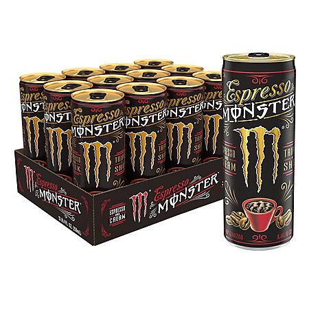Monster Energy Espresso & Cream (8.4oz / 12pk)