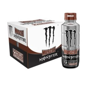 Monster Muscle Chocolate Protein Shake (15oz / 12pk)