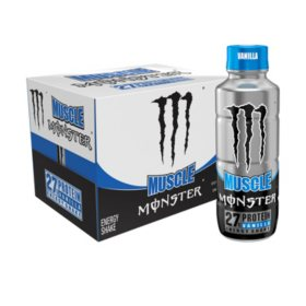 Monster Muscle Vanilla Protein Shake (15oz / 12pk)