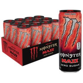 Monster Energy MAXX Rad Red (12oz / 12pk)