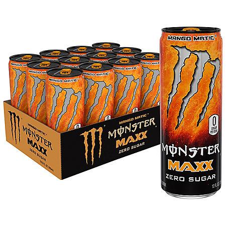 Monster Energy MAXX Mango Matic (12oz / 12pk)