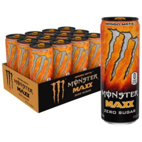 Monster Energy MAXX Mango Matic (12oz / 12pk)