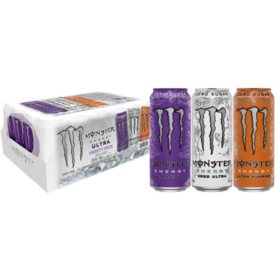 Monster Ultra POW Variety Pack (16oz / 24pk)