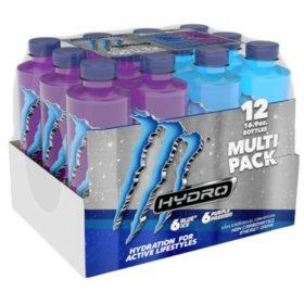 Monster Energy Hydro Variety Pack (16.9oz / 12pk)