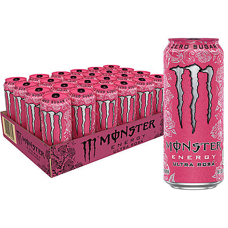 Monster Energy Ultra Rosa (16oz / 24pk)