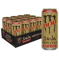 Monster Java 300 Triple Shot, Mocha (15 fl. oz., 12 pk.)