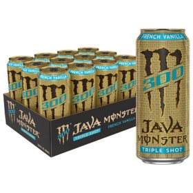 Monster Java 300 Triple Shot, French Vanilla (15 fl. oz., 12 pk.)