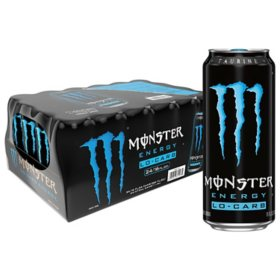 Monster Energy Drink, Lo-Carb (16 oz. cans, 24 ct.)