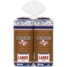Mrs. Baird's Large White Bread (24 oz., 2 pk.)