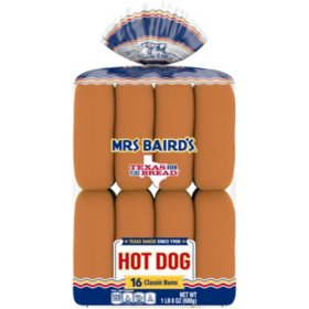 Mrs Baird's Hot Dog Buns (16 ct.)